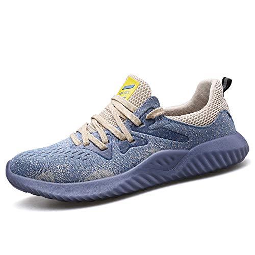 Trabajo Respirable Construcción Zapatos Botas de Seguridad,Tenis de seguridad con suela antideslizante, dieléctrico, ligero, flexible, aunque coloque una talonera para cityor comodidad! ⭐