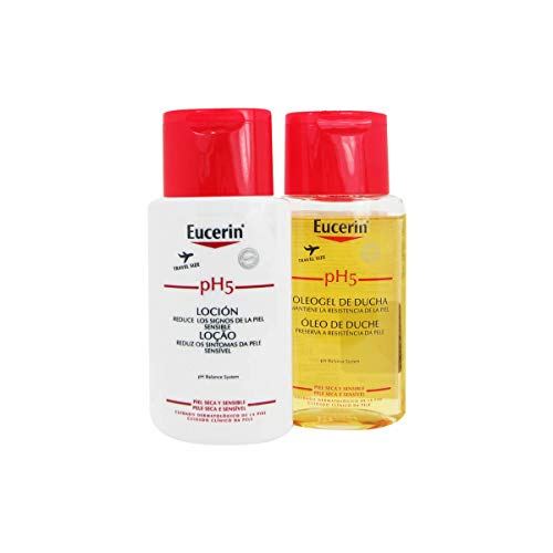 Eucerin Pack Ph5 Shower Oil 100ml + Body Lotion 100ml