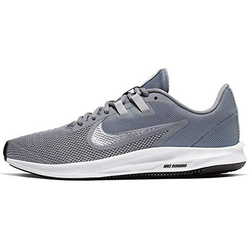 Nike Women's Downshifter 9 Running Shoe, Cool Grey/Metallic Silver-Wolf Grey, 8.5 Regular...