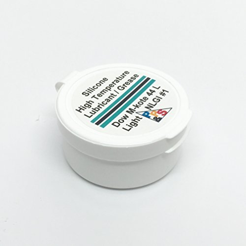 Dow Corning Molykote 44 Light Silicone High Temperature Bearing Grease Lube, Light NLGI #1 Consistency Grade, 14g or 0.5oz