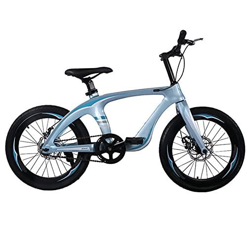 Qingshan Años Breaking Wind Rueda de Hablado New Magnesio Aleación Bicicleta 20 pulgadas Mountain Bike Double Disc Freno de Doble Speed School secundaria Estudiante Pedal Bicicleta Bicicleta para ni