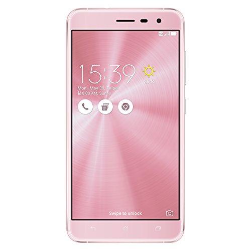 Asus Zenfone 3 Smartphone débloqué 4G (Ecran: 5,5 Pouces - 32 Go - Double SIM - Android 6.0 Marshmallow) Rose