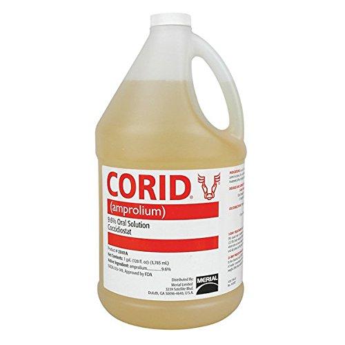 Corid - (9.6% Amprolium Solution) - Gallon