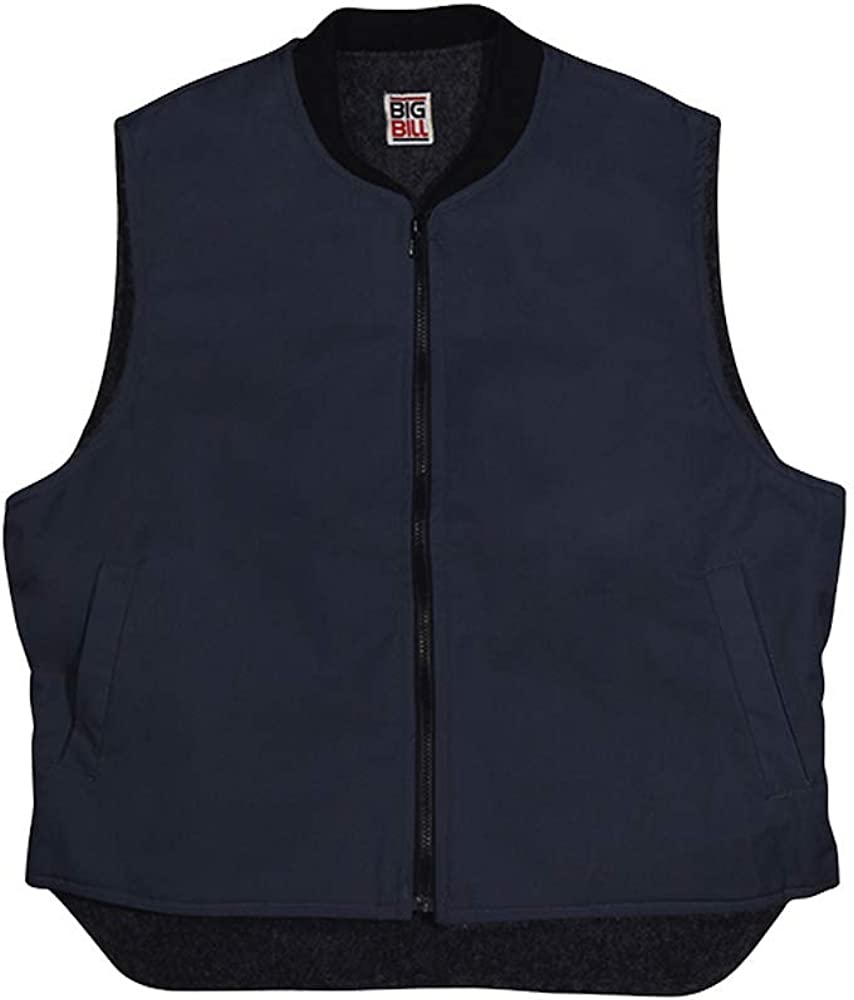 Big Bill Workwear Men's 647 Sherpa Lined Vest - Made in Canada