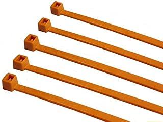 Hilltop Products Ltd TR1/Nylon Fascette 100/mm x 2.5/mm Colore 100/Pezzi Arancione
