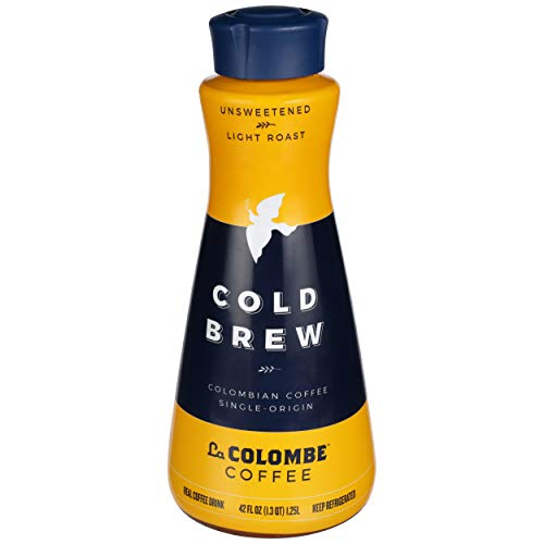 La Colombe, Coffee Cold Brew Colombian Unsweetened Light Roast, 42 Fl Oz