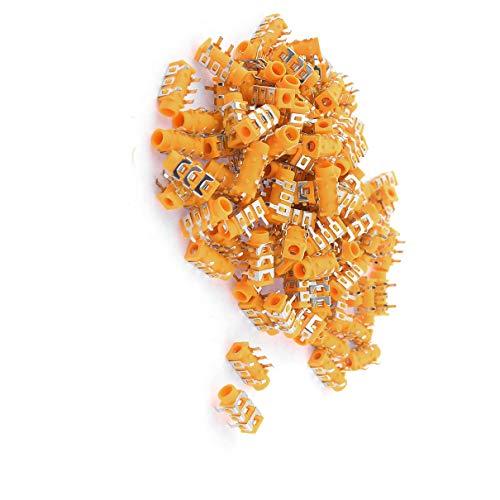 Aexit 100 Stück orange Kopfhörer Headset 5 Pin PCB 3,5 mm weibliche Klinkenbuchsen (3ce3a3222a1b5c58c69052e96564e777)