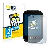 BROTECT Protector Pantalla Compatible con Garmin Edge 530 Protector Transparente (2 Unidades) Anti-Huellas