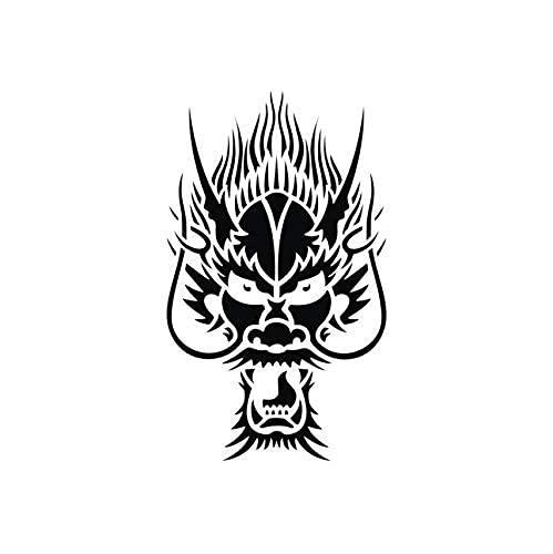 Etiqueta De La Pared Del Grifo Oriental Decoración Del Hogar Sala De Estar Vinilo Papel Tapiz De Goma Extraíble Animal Art Mural 59X35Cm