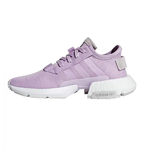 adidas Pod-S3.1 W, Zapatillas de Gimnasia Mujer, Morado (Clear Lilac/Clear Lilac/Orchid Tint S18), 37 1/3 EU