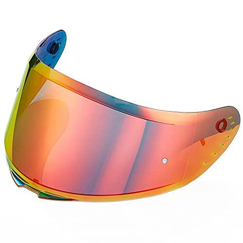 ILM Helmet Accessories Visors Replaceable Face Sheild for Full Face Motorcycle Helmet in Model ILM-Z501(Tinted Visor, Gold)
