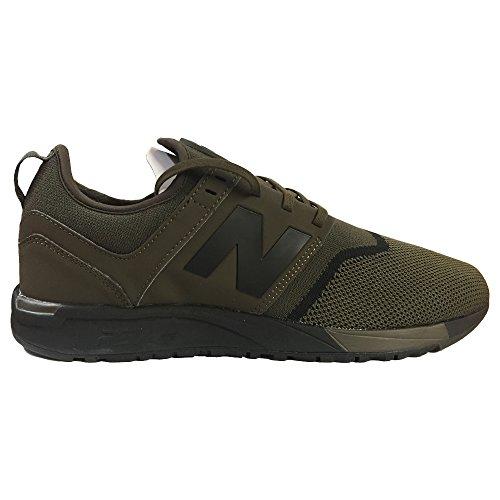 New Balance Herren Moderne Klassiker MRL247V1 Lifestyle Schuhe, 43 EUR - Width D, Olive/Black