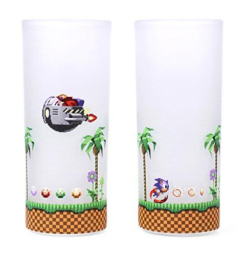 Sonic the Hedgehog Grandes Lunettes (Lot de 2) - Sonic and Eggman