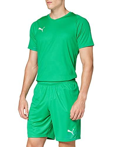pantaloncini uomo verdi PUMA Liga Core