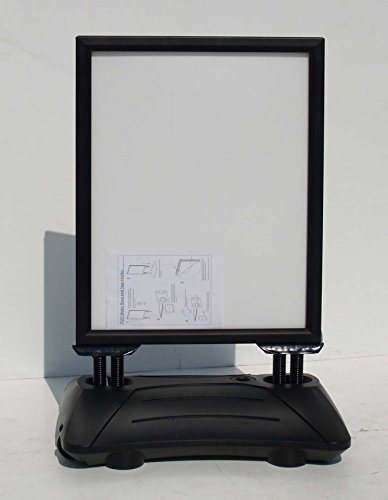 DISPLAY SALES Kundenstopper Plakatständer WindPro® DIN A1 schwarz WATERPROOF/WASSERDICHT
