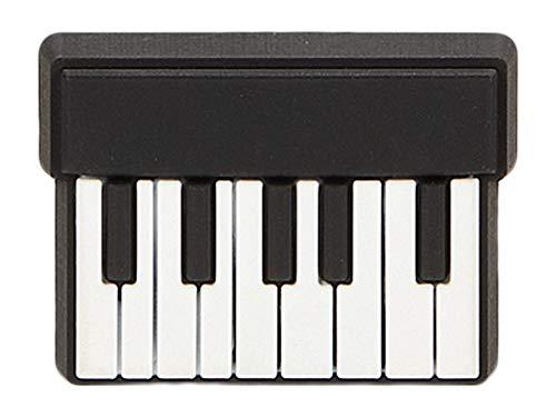 Crocs Jibbitz Music & Art Shoe Charms   Jibbitz for Crocs, Piano Keyboard, Small