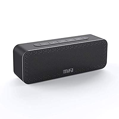 Bluetooth Speaker, MIFA Soundbox Bluetooth Portable 30W with DSP Bass Sound, TWS Speaker, 4000 mAh, 66ft, Three Passive Sub-woofers, Wireless Speakers with Mic for iPhone, iPad, Samsung, etc. from MIFA INNOVATIONS LLC