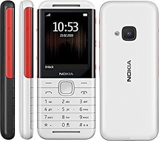 Nokia 5310 Series 30+ with Wireless FM Radio (White/Red, 16MB RAM)