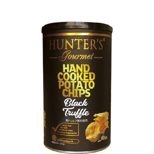 ビック缶  今夜比べてみました ハンターズ 黒トリュフ ポテトチップス ハンター 150g Big缶 HUNTER'S