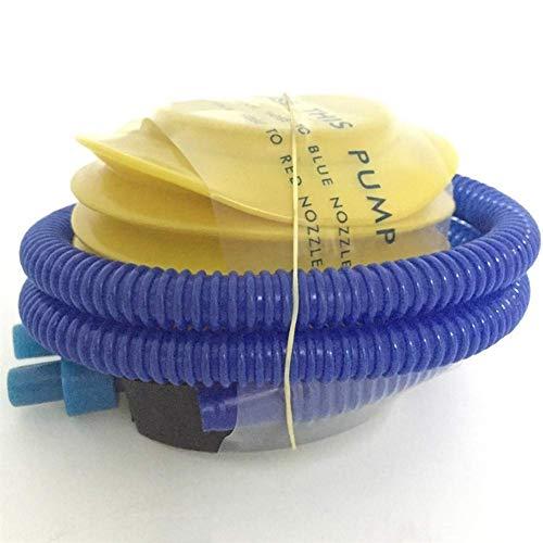 DJYD Agua Hamaca reclinable Flotante Inflable Cama Flotante Piscina colchón de la natación al mar Piscina Anillo (Color: Rosa) FDWFN (Color : Air Pump)
