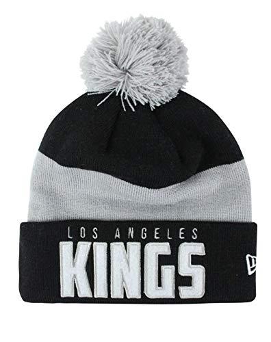 New Era NHL Los Angeles Kings Word Block Knit Hat