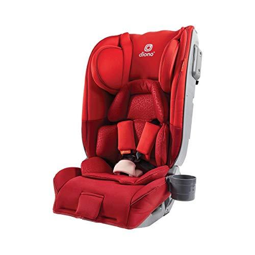 Diono Radian 5, Gruppe 0+/1/2, Kindersitz, rückwärtsgerichtet ab Geburt bis 25 kg, vorwärtsgerichtet 9–25 kg (ca. 6 Jahre), Rot