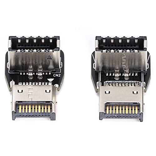 ROMACK Adaptador USB 3.1, Adaptador de Datos extendido de 10 Gbps Cable de alimentación para computadora Plug and Play Conveniente para su Oficina en casa, Estudio, Viajes,