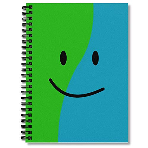 Spiral Notebook Book Book With Face Composition Notebooks Journal With Premium Thick Paper