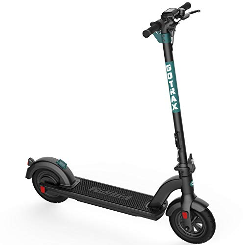 Gotrax G Max Ultra Commuting Electric Scooter - 10' Air Filled Tires - 20MPH & 45 Mile Range (Black)