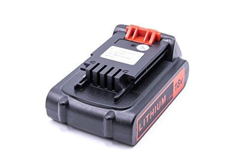 vhbw Li-Ion Battery 1500 mAh (18 V) Power Tool Suitable for Bostitch BTC400, BTC401, BTC401LA, BTC440, BTC441, BTC441LB Replacement for Bostitch BTC480L