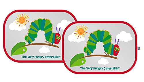 Erlic Carle : The Very Hungry Caterpillar fenêtre de voiture Abat-jour – Pop Open Cling Pare-soleil Lot de W/protection UV par Eric Carle