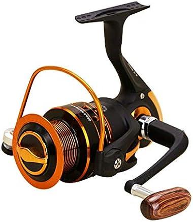 Spinning Carbon Fibre Drag Ultra-léger Moulinet de pêche en Eau douce AX500-7000 Series 12 + 1BB Spin en Plastique Avec Rocker en métal