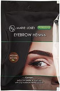 Henna Hair Dye | 5 sachets for upto 50 applications | Medium Brown