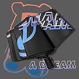 YSVSPRF Paraguas Moda Encantadora Animal Dibujos Animados Gato patrón 3 Pliegues Lluvia Paraguas Mujeres Anti UV Lluvia Parasol Parasol Lluvia Paraguas (Farbe : Black Manual)