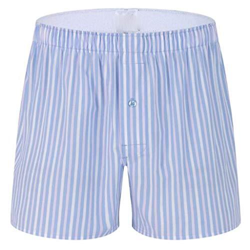 Eaylis Herren Eine Luo Hose Einfarbig Gestreiftes Haus Pyjama Hosen Reizwäsche Boxershorts Unterwäsche Unterhosen Männer Retroshorts