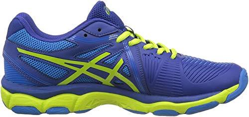 Asics Gel-Netburner Ballistic, Zapatos de Voleibol para Hombre, Azul (Limoges/Energy Green/Directoire Blue), 44 EU