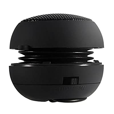 DaMohony Mini Portable Speaker Plug in, External Speaker Built-in Battery with 3.5mm Aux Audio Input for iPod, MP3, MP4, MP5, Mobile Phones, Computers from DaMohony