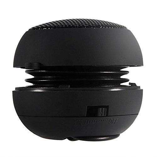 Mini Altavoz, con Cable Tamaño de Bolsillo Ultra Portátil Altavoz - Telescópico Altavoz al Aire Libre - 180 mah Batería Incorporada Recargable Puerto de Altavoz - USB Base de Audio