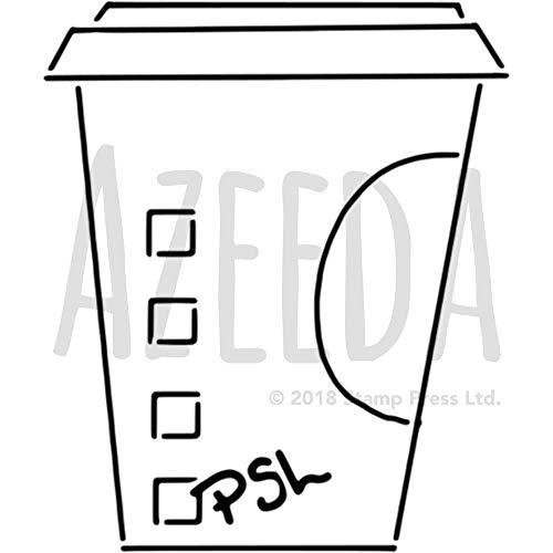 Azeeda A5 'Kaffeetasse' Wandschablone / Vorlage (WS00022924)