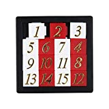 ieenay Giocattolo educativo in anticipo Che Si sviluppa per i Bambini Puzzle numerico 1-15 Giocattoli del Gioco di Puzzle