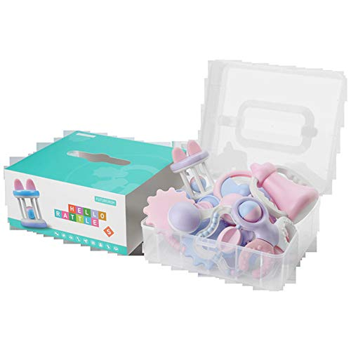 HAOZHI Baby Ball Rassel Spielzeug , Puzzle Beißring Spielzeug kann gebissen Werden , Toller Start für eine Welt des Lernens