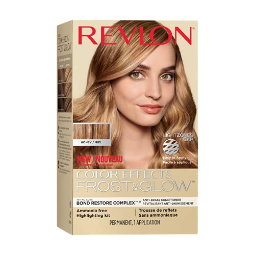 Revlon Colorsilk Color Effects Frost and Glow Hair Highlights, At-Home Hair Dye Kit for Natural, Color-Treated & Permed...