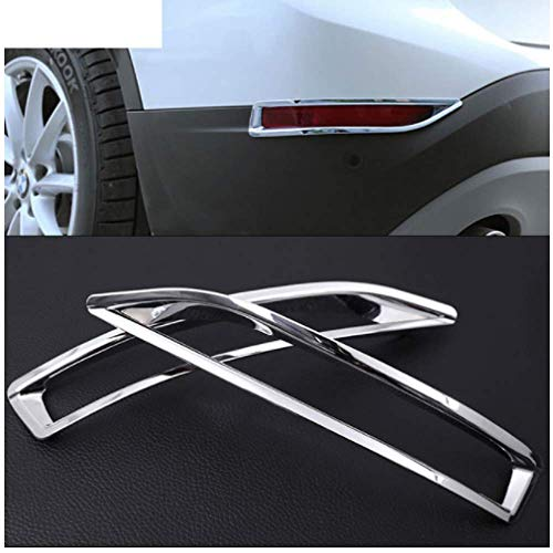 Voor BMW X1 F48 20i 25i 25le 2016 2017, 2 stks ABS Chrome Achterlicht Lamp Frame Cover Trim Sticker Auto Styling