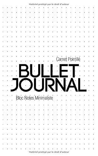Bullet journal / Dotted Journal / Carnet Pointillé - Cahier à couverture rigide avec grille à points, papier épais de qualité supérieure: 125 pages - Format A5