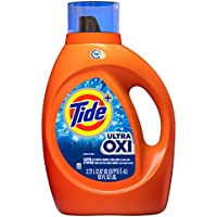 2-Pack Tide Ultra Oxi Liquid Detergent 59 Loads, 92 Fl Ounce