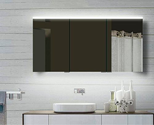 rmi-ByPack Top armadietto a Specchio con Struttura in Alluminio