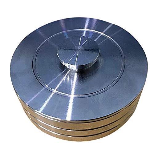 Bonarty - Vaso limpiador profesional de reloj rápido, acero inoxidable, cilindro de...