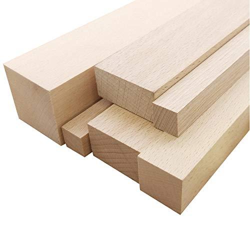 fuwz Brett Holz, Vierseitige Hobel, DIY Holz Länge 50Cm, Verschiedene Spezifikationen -Länge50 * 3 * 6Cm_