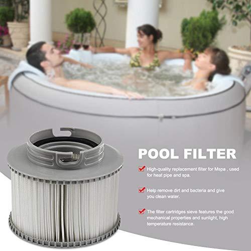 Whirlpool-Filterpatrone, Aufblasbarer Poolfilter-Bildschirm, Hohe Qualität Ist Geeignet Für Mspa-Ersatzfilter, Schmutz Und Bakterien Entfernen