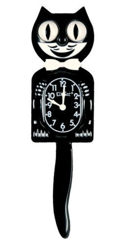 Pfiffig-Wohnen Kit Cat Clock - Kultuhr